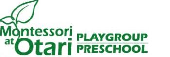Montessori at Otari Playgroup and Preschool